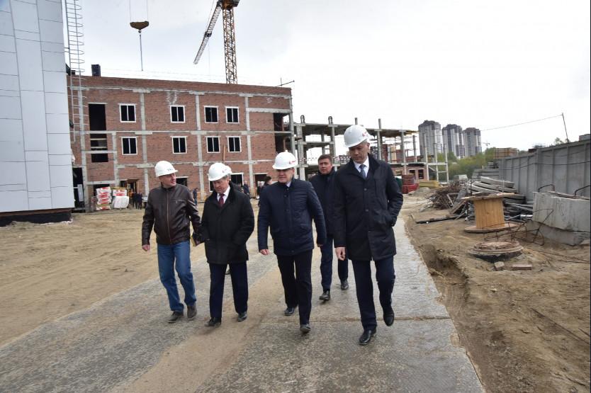 Андрей Травников: «Региональный волейбольный центр должен быть готов уже в мае 2020 года»