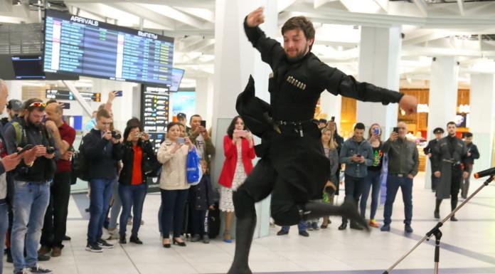 В аэропорту Толмачево открыли новый рейс Новосибирск-Батуми