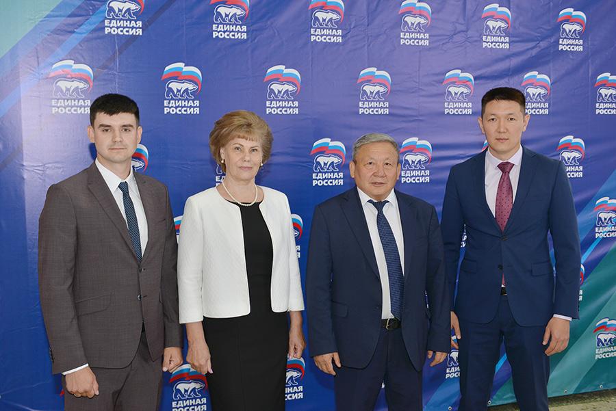«Единая Россия» в республике Алтай