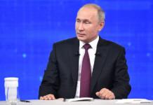 Во время «прямой линии» Владимир Путин ответил на 80 вопросов