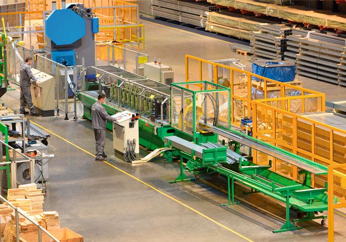 комплекс по производству секционных ворот