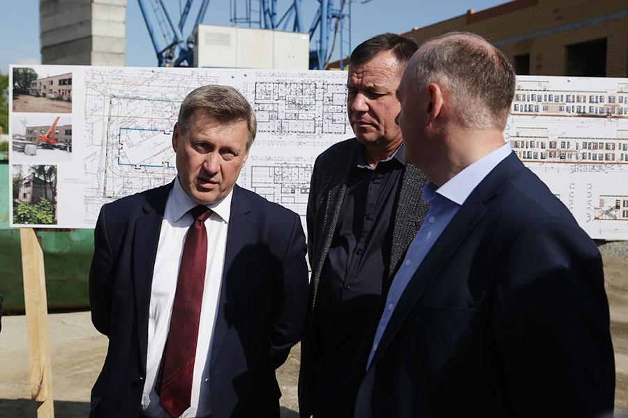 Анатолий Локоть: «Детский сад на ул. Чехова – один из семи объектов, которые будут введены в 2019 году»