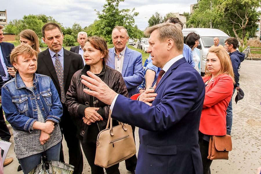 Около 100 млн рублей будет направлено на благоустройство поселка Гвардейский в Новосибирске