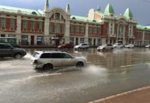 В Новосибирск в ближайшие дни вернутся дожди, грозы и сильный ветер