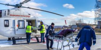 Вертолеты санитарной авиации эвакуировали более 370 человек в Томской области с начала 2019 года