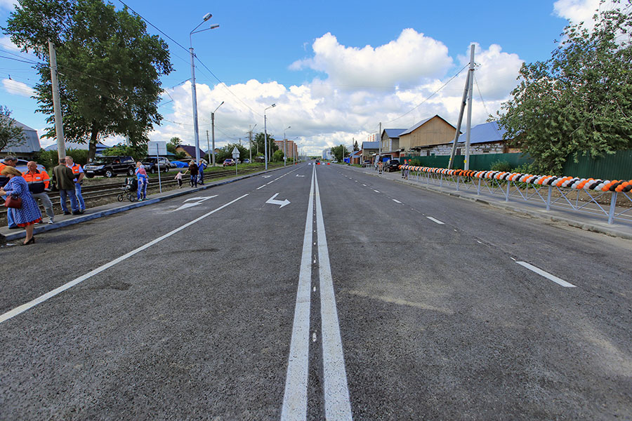Анатолий Локоть: «Новая дорога по ул. Титова сделает микрорайон «Чистая Слобода» доступнее»