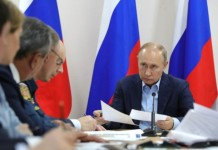 Владимир Путин дал ряд поручений по ликвидации последствий паводков в Иркутской области
