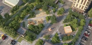 На территории ЖК «Грибоедов» торжественно откроют одноименный сквер