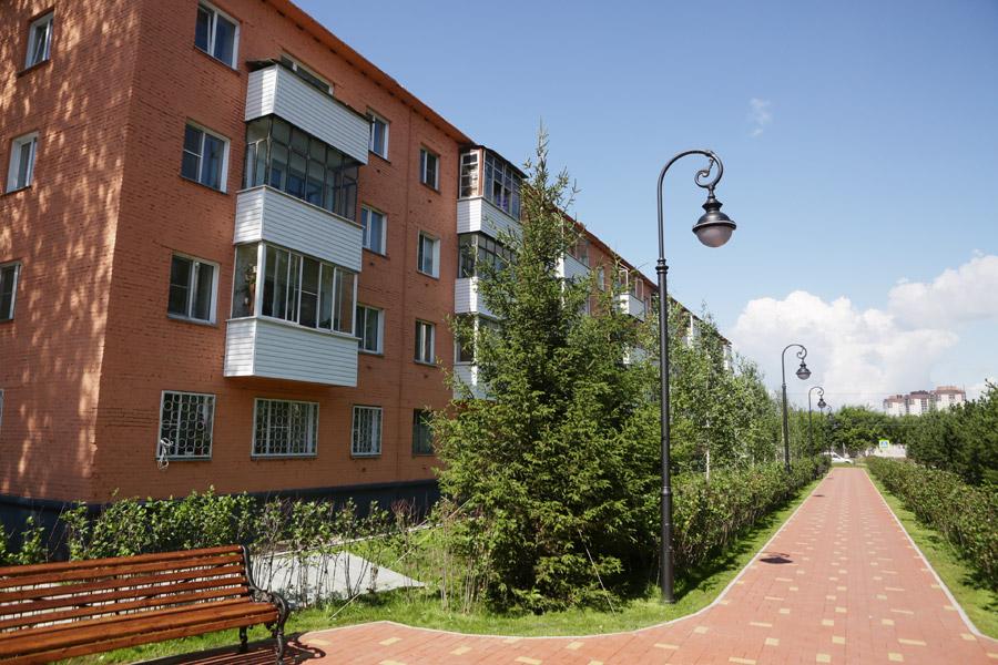 Мэру Новосибирска показали новые скверы города