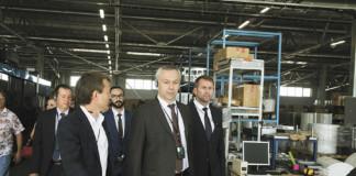 Губернатор Новосибирской области Андрей Травников принял участие в открытии завода «РоссПака»
