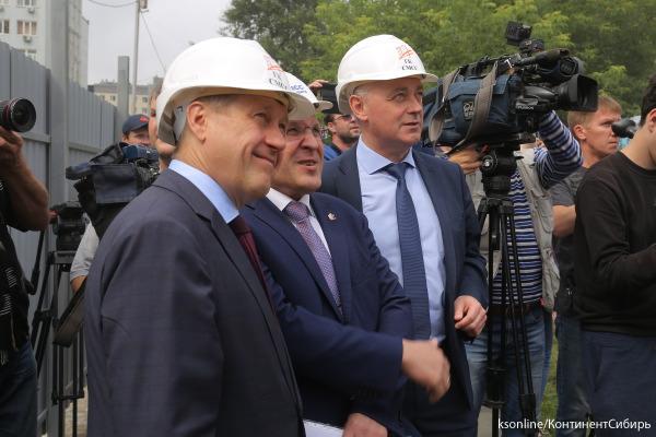 В Новосибирске продолжают сносить аварийные дома по программе развития застроенных территорий