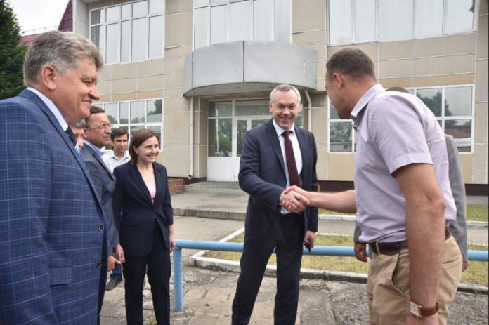 Андрей Травников: «Для расширения Коченевcкой ЦРБ приобретен комплекс зданий»