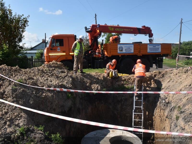 64 млн рублей направят на ремонт системы водоснабжения в селе Новороманово Алтайского края