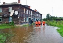 В Иркутской области в результате второй волны паводка остаются подтопленными 25 населенных пунктов