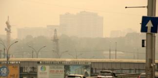 Смог, нависший над Новосибирском, задержится как минимум еще на сутки