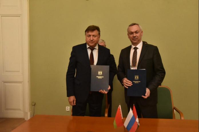 Подписан план мероприятий по развитию сотрудничества Новосибирской области и Республики Беларусь до 2021 года