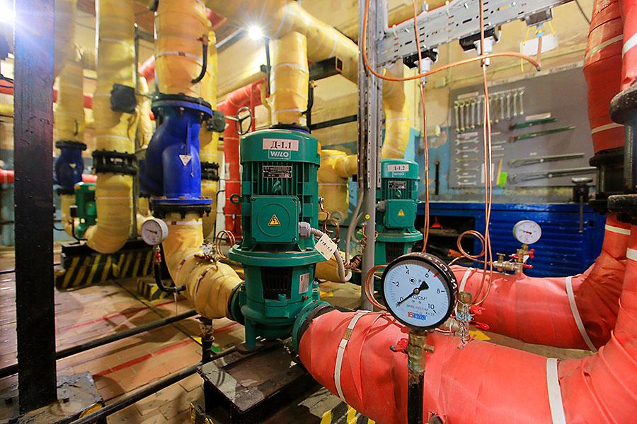 Мэр Анатолий Локоть: «50 объектов в Пашино подключат к новой линии циркуляции трубопровода горячего водоснабжения»