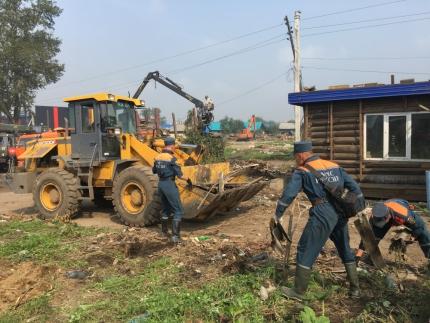 Пострадавшие от наводнения населенные пункты Иркутской области полностью освобождены от воды