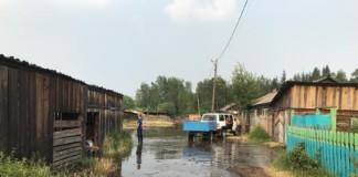 В Богучанском районе Красноярского края из-за паводка эвакуировали почти 40 человек