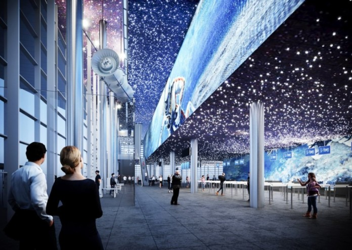 «Новапорт» представил архитектурный проект нового терминала кемеровского аэропорта