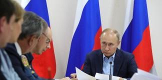 Владимир Путин прибыл в Братск, чтобы оценить работы по ликвидации последствий от паводка в Иркутской области