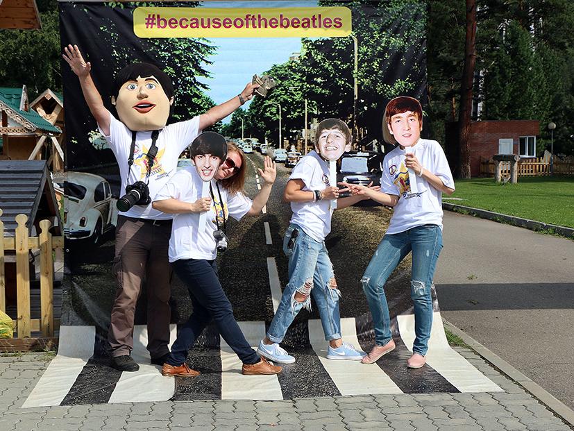 «The Beatles в Индии» — премьера ко дню «битломании» - Фотография