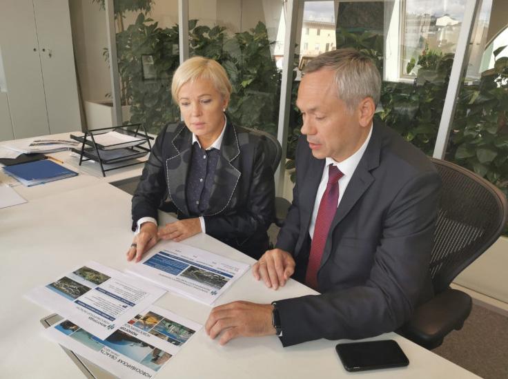 Андрей Травников обсудил в Москве реализацию комплексного инвестплана по развитию моногорода Линево