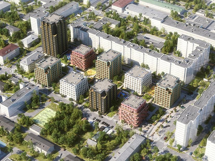 Европейские урбан-виллы строят в Новосибирске: как новый формат жилья изменит облик города - Фото
