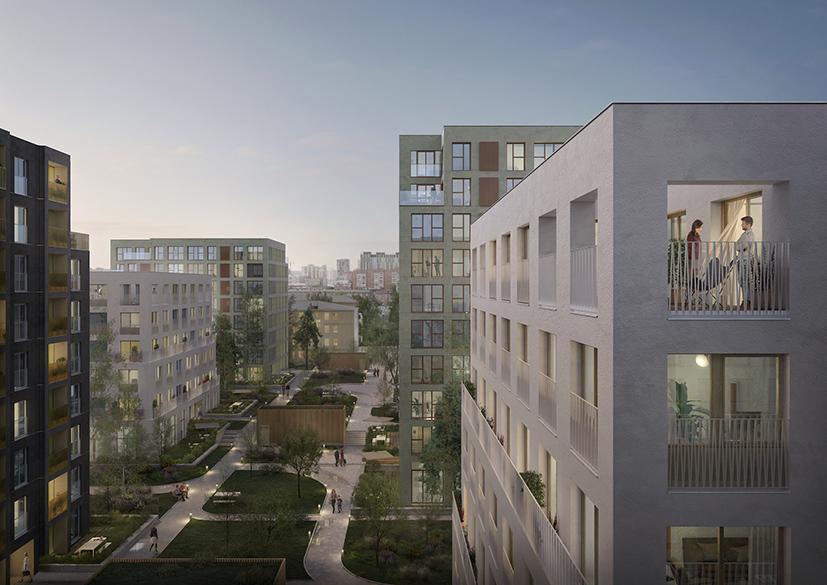 Европейские урбан-виллы строят в Новосибирске: как новый формат жилья изменит облик города - Фотография