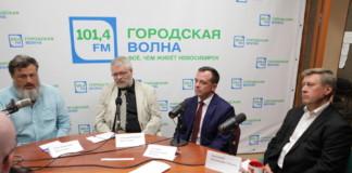 Мэр Новосибирска Анатолий Локоть принял участие в дебатах