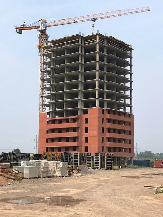 Власти Красноярского края пообещали до конца года достроить большинство домов проблемного ЖК «Квадро»