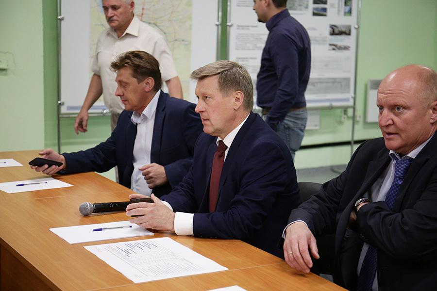 Мэр Анатолий Локоть: от «Спортивной» - к Дзержинской линии