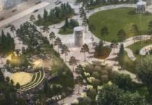 Кемеровские депутаты утвердили название сквера, который строят на месте сгоревшей «Зимней вишни»
