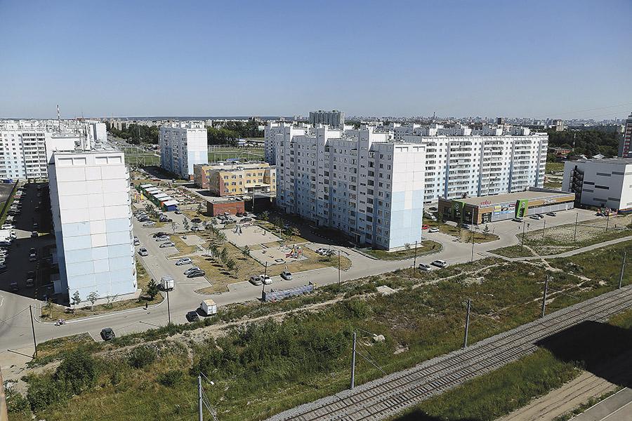 Новосибирский микрорайон «Чистая Слобода»