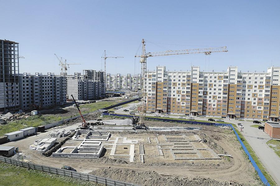 Новосибирский микрорайон «Чистая Слобода»: голубая мечта или суровый «эконом»? - Фотография
