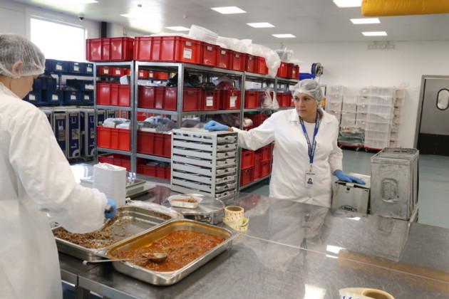 Комплекс фабрики бортового питания