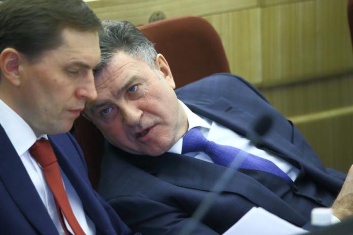 Виктор Игнатов (слева) и Андрей Шимкив