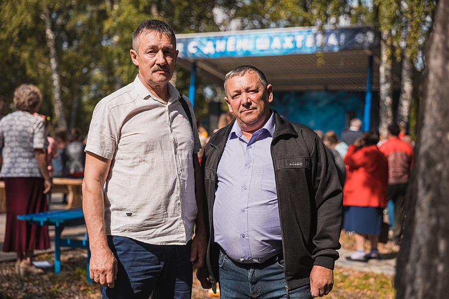 Братья Александр и Сергей Урванцевы