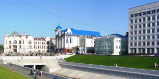 Набережная в Томске
