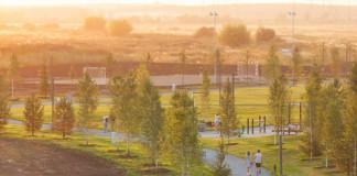 Новый городской сквер на Никитина восстановит зелёную среду центрального Новосибирска