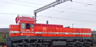 Локомотив производства ШААЗ