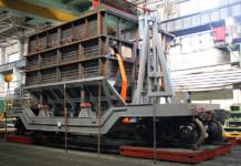 Новосибирский завод «Сиблитмаш» изготовил вагон в 54 тонны