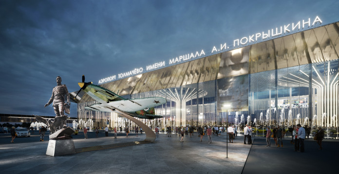 Миниатюра для: Проект реконструкции аэропорта Толмачево прошёл госэкспертизу