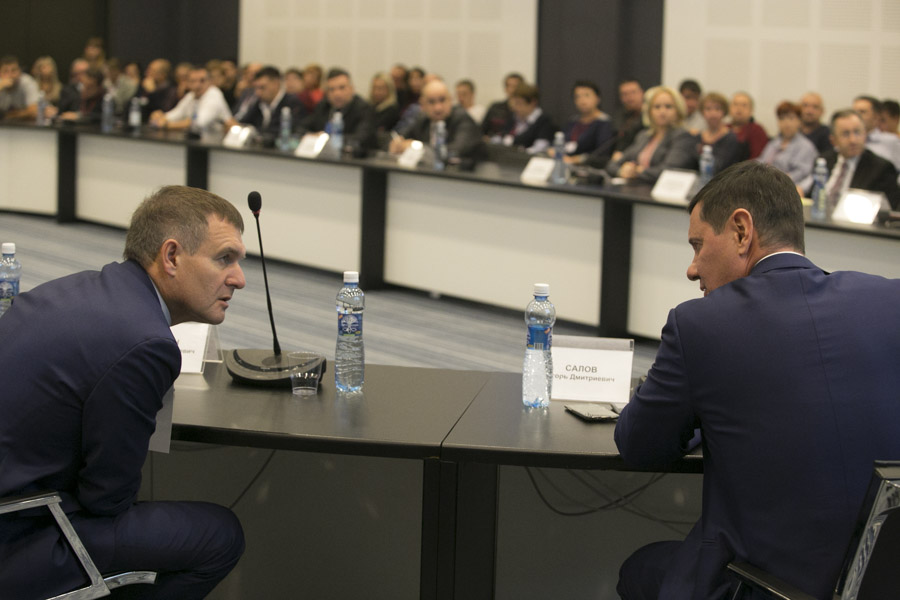 Виталий Витухин (слева) и Игорь Салов