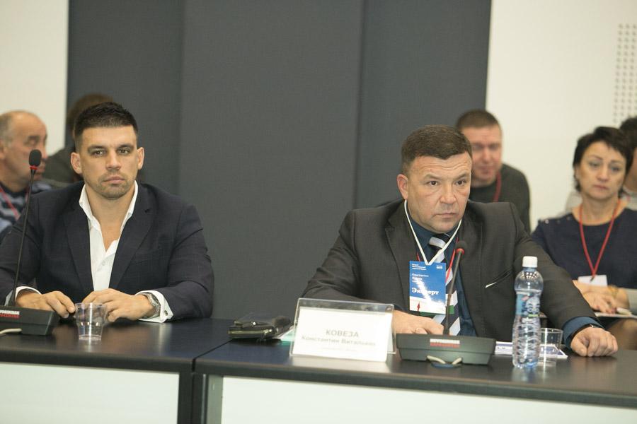 Евгений Бурденюк (слева) и Константин Ковеза