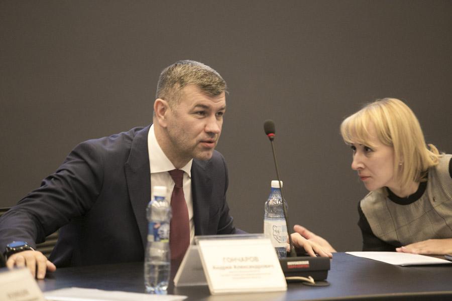 Андрей Гончаров (слева) и Наталия Кошелева