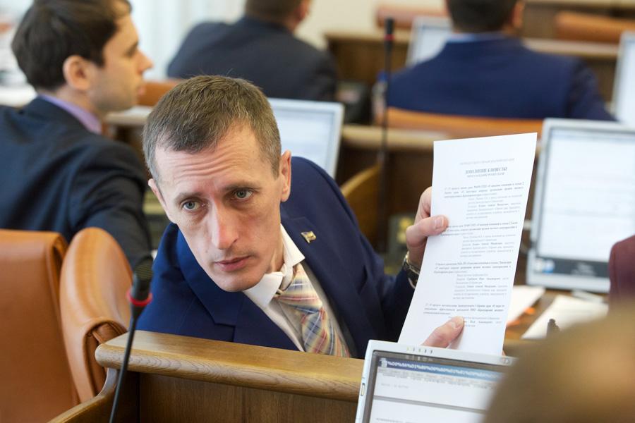 Глава комитета по строительству и ЖКХ АЛЕКСЕЙ КУЛЕШ