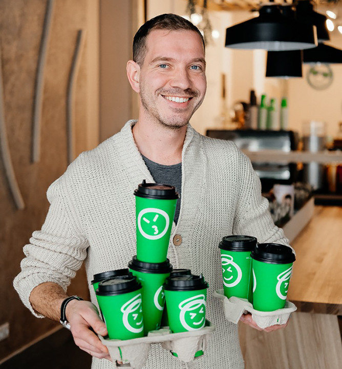 Миниатюра для: Бодрый старт новой кофейной отрасли