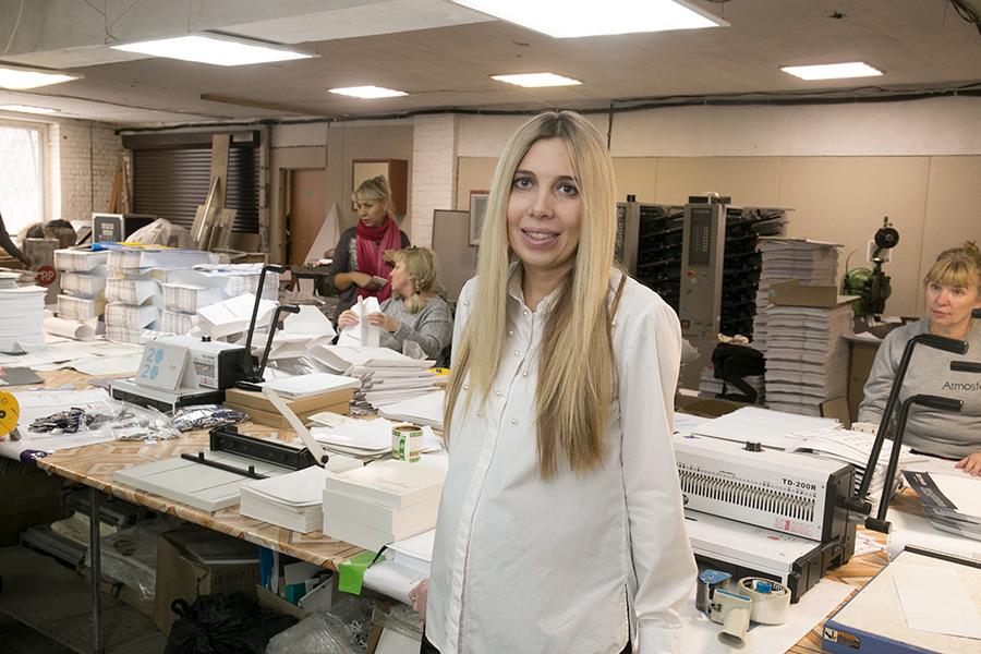 Катерина Неклюдова: от дизайнера-фрилансера до директора типографии - Фотография