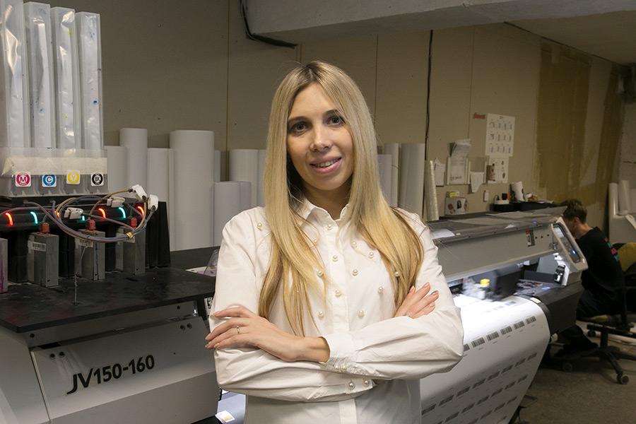 Катерина Неклюдова: от дизайнера-фрилансера до директора типографии - Фото